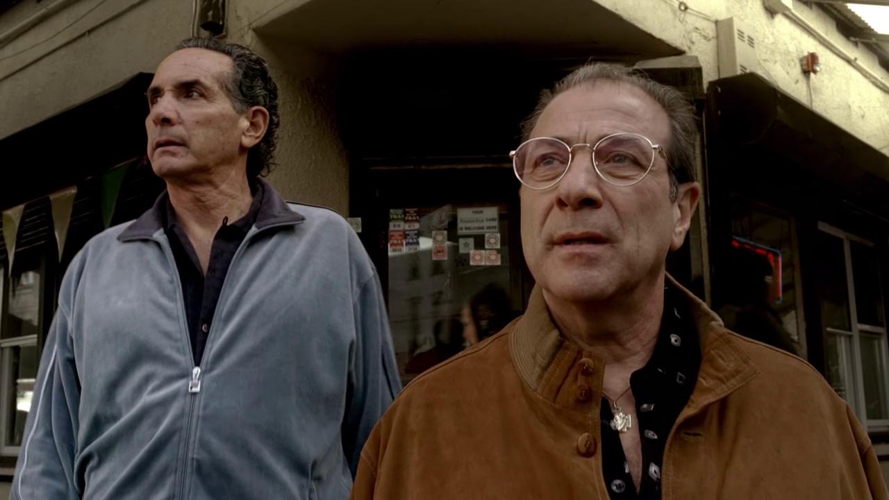 The Sopranos: Season 6, Episode 8 Johnny Cakes (30 Apr. 2006) Dan Grimaldi,  Patsy Parisi, Artie Pasquale , Burt Gervasi   Sopranos, Johnny, Hbo