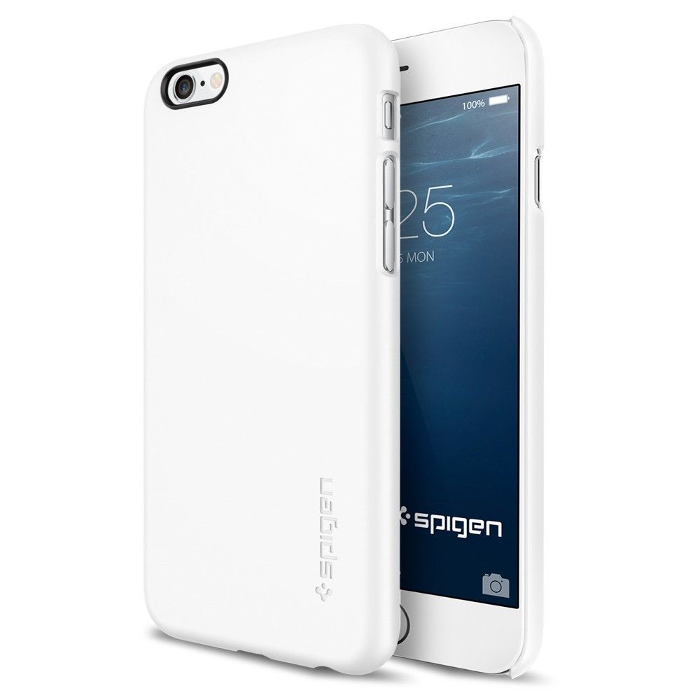 differently cb7e6 9becd Buy Spigen iPhone 6 Thin Fit A Cover White | Best Buy Cyprus ...
