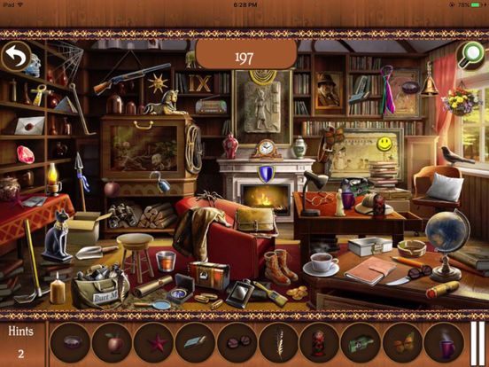 Screenshot 4 for Hidden ObjectsBig Home 2 Hidden Object