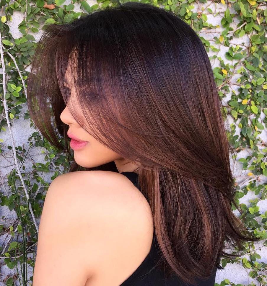 80 Sensational Medium Length Haircuts For Thick Hair Thicker Hair