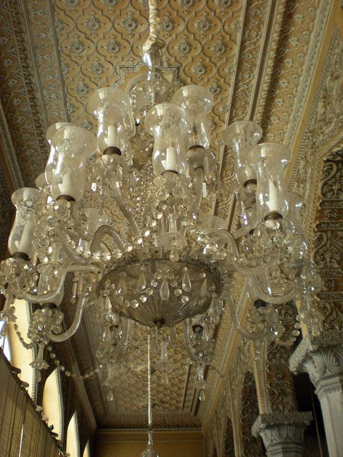Chowmahalla Palace, Hyderabad | Hyderabad and Chandeliers