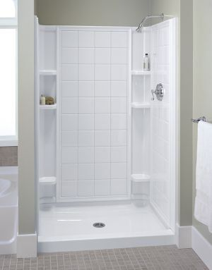 View The Sterling 72132100 Ensemble 60 X 72 1 2 Tile Alcove