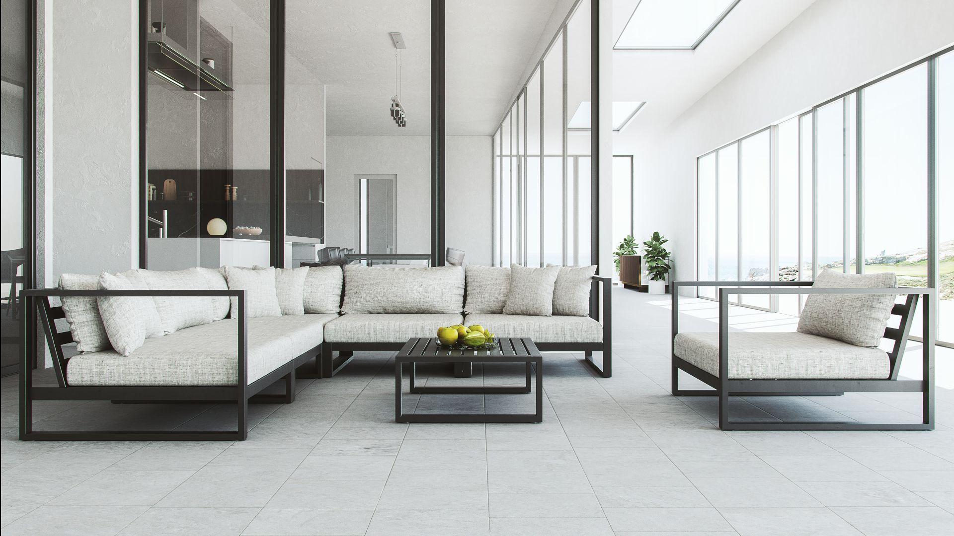 Garnitur Im Lounge Stil Artelia Gartenmobel In 2020 Lounge Mobel