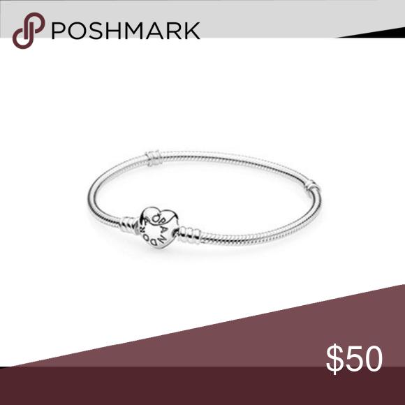 Pandora heart clasp bracelet size 17cm Brand new 100% authentic Pandora Other