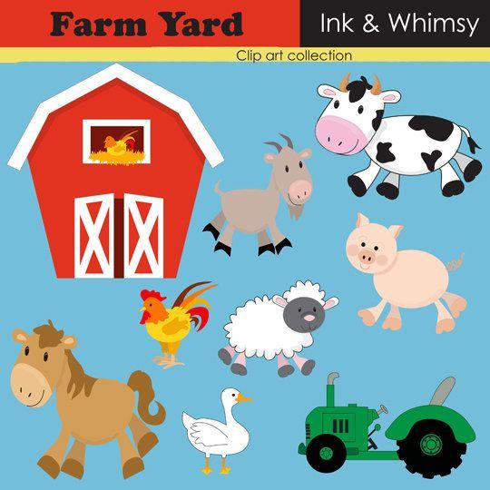 Farm Clipart 5 Farm Animal Party Clip Art Cartoon Clip Art