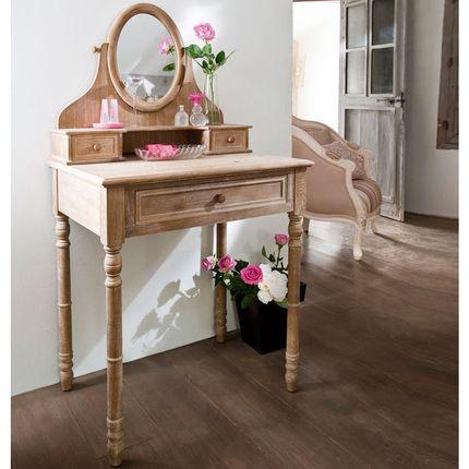 Coiffeuse miroir ophrys patin c rus vente de meubles pour chambre la maison de val rie - La maison de valerie meubles ...