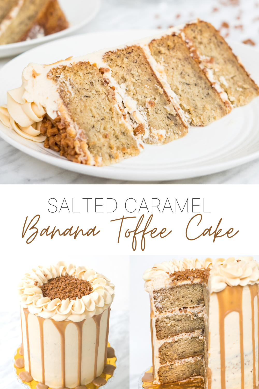 Photo of Salted Caramel Banana Toffee Cake