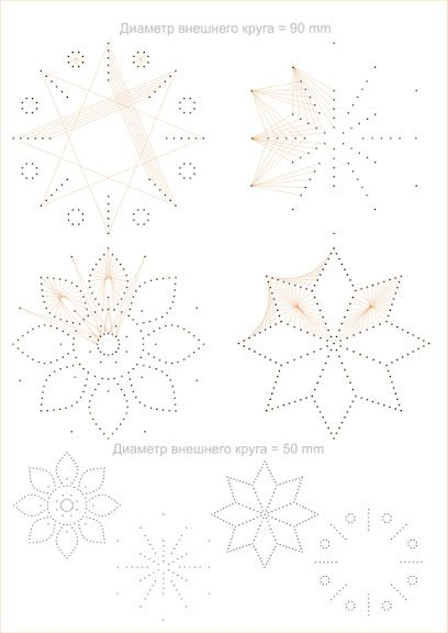Card embroidery. Card piercing. Embroidery pattern. Design. Motifs. Retro. Geometric. Vintage. cartes brodees