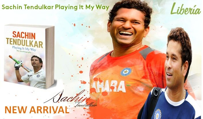 "#RecommendationOfTheWeek  Sachin Tendulkar Playing It My Way  Do You Know Some unrevealed facts about Sachin Tendulkar and his experiences in & out of Cricket playground that have been explored in his recently launched Autobiography ""Playing It My Way"". Book Your Copy Today at - http://www.liberiaindia.com/pro_detail.php?pro_id=19968"