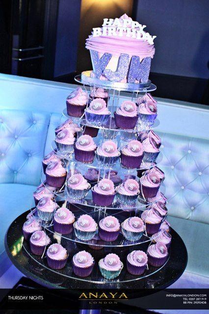 Outstanding Celeb Blogger Vas J Morgans Amazing Birthday Cake Pink Purple Funny Birthday Cards Online Ioscodamsfinfo
