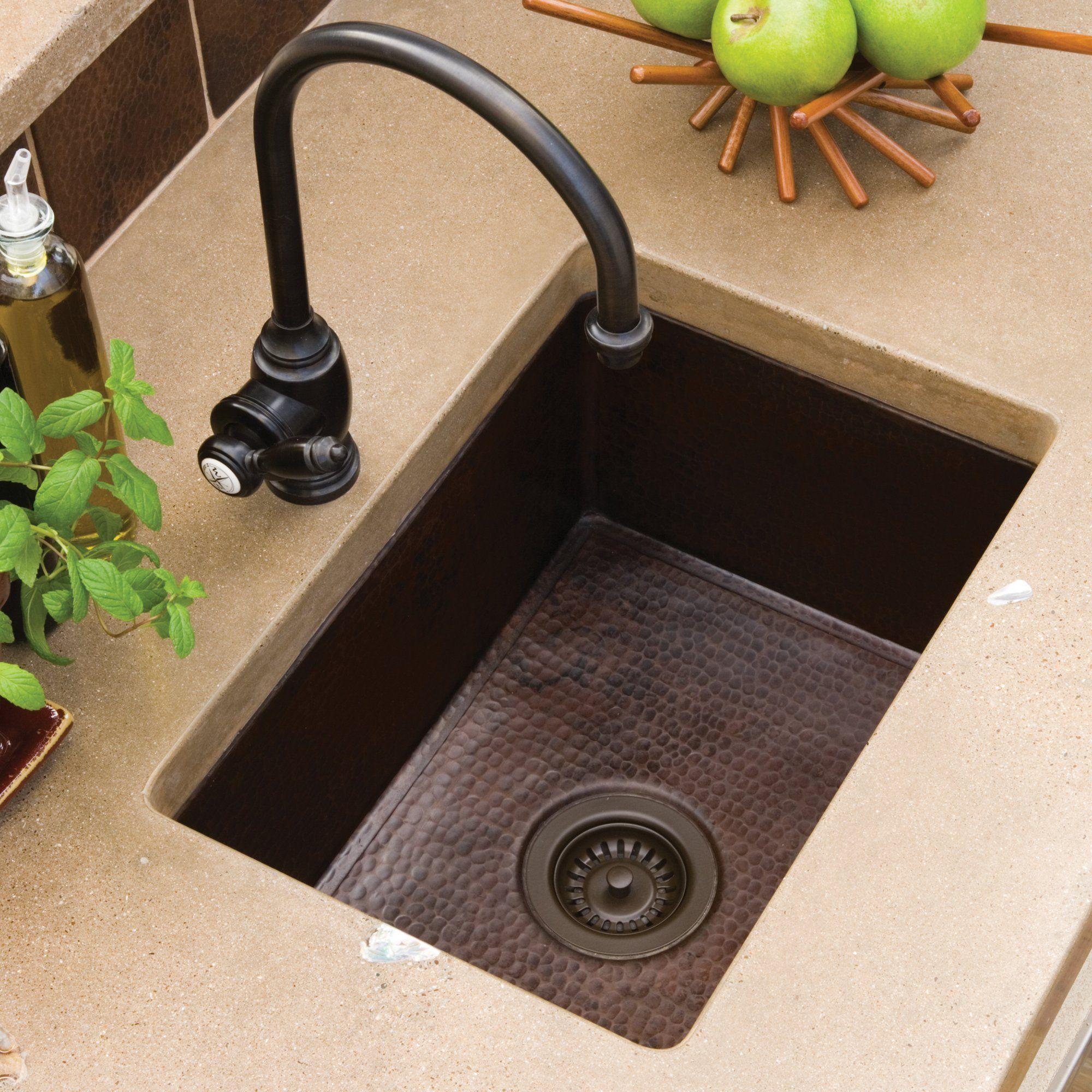 Alveus Monarch Variant 40 Copper Undermount Sink Copper Kitchen Copper Taps Kitchen Copper Kitchen Sink