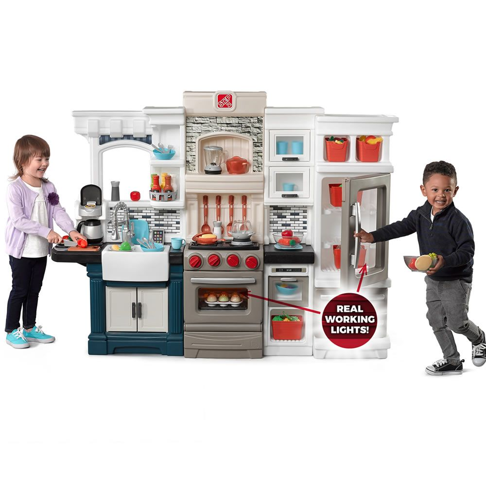 grand luxe kitchen by step2 is one of most popular play kitchen products for children - Step2 Kitchen