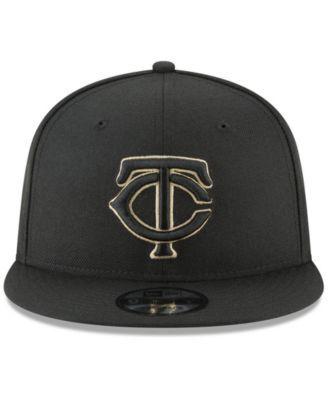 hot sale online 03333 4b3e3 New Era Minnesota Twins Fall Shades 9FIFTY Snapback Cap - Black Adjustable