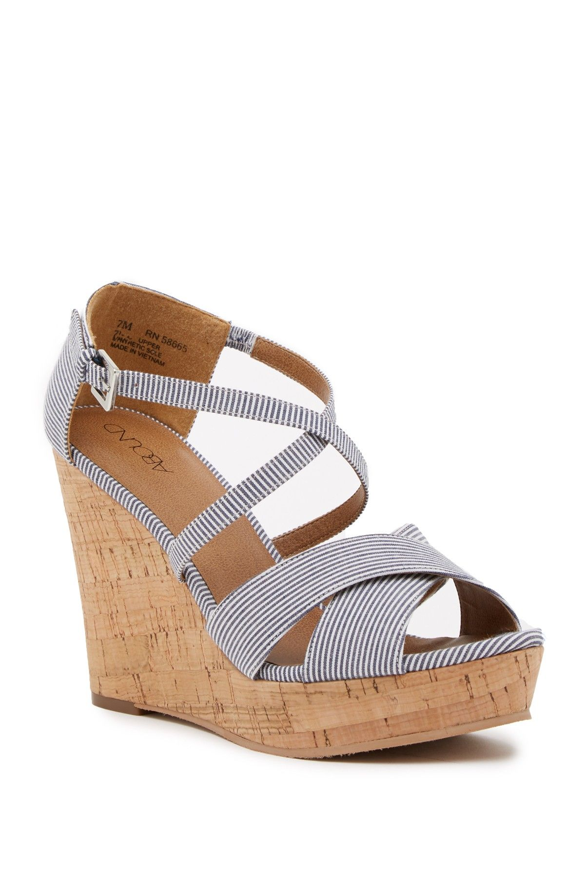 9d0f16a48b Bria Platform Wedge Sandal by Abound on  nordstrom rack