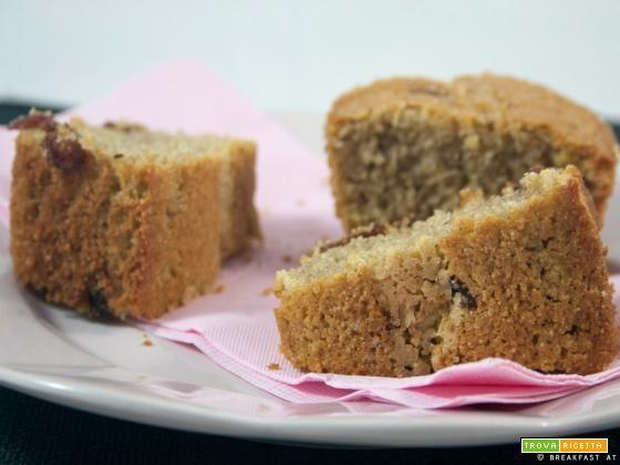 Ciambella con uvetta senza burro / No-butter raisins bundt cake recipe  #ricette #food #recipes
