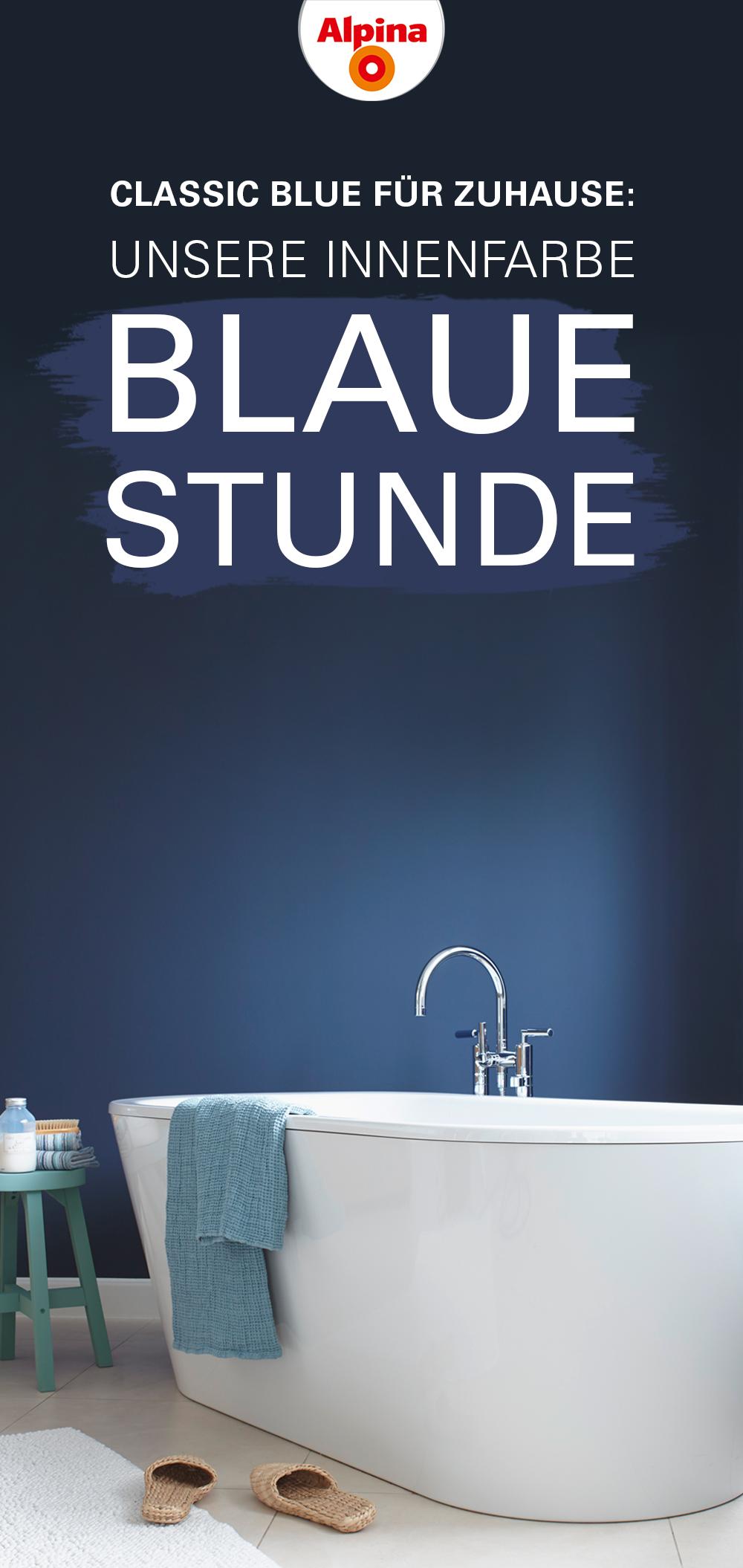 Classic Blue Fur Zuhause Alpina Farbrezepte Blaue Stunde Alpina Farbrezepte Innenfarbe Farben