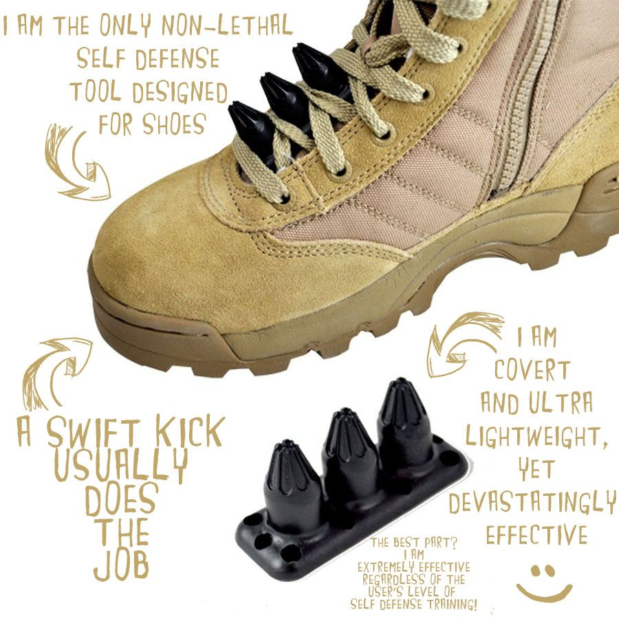 4f2672d3a551 Tactical Shoe Spikes I WANT EVERYTHING ON THIS WEBSITE!