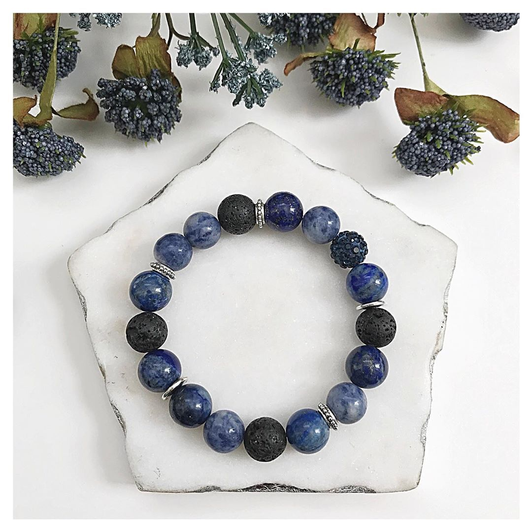 Newbie on the website ! ! Lovely Lapis Lazuli Sodalite