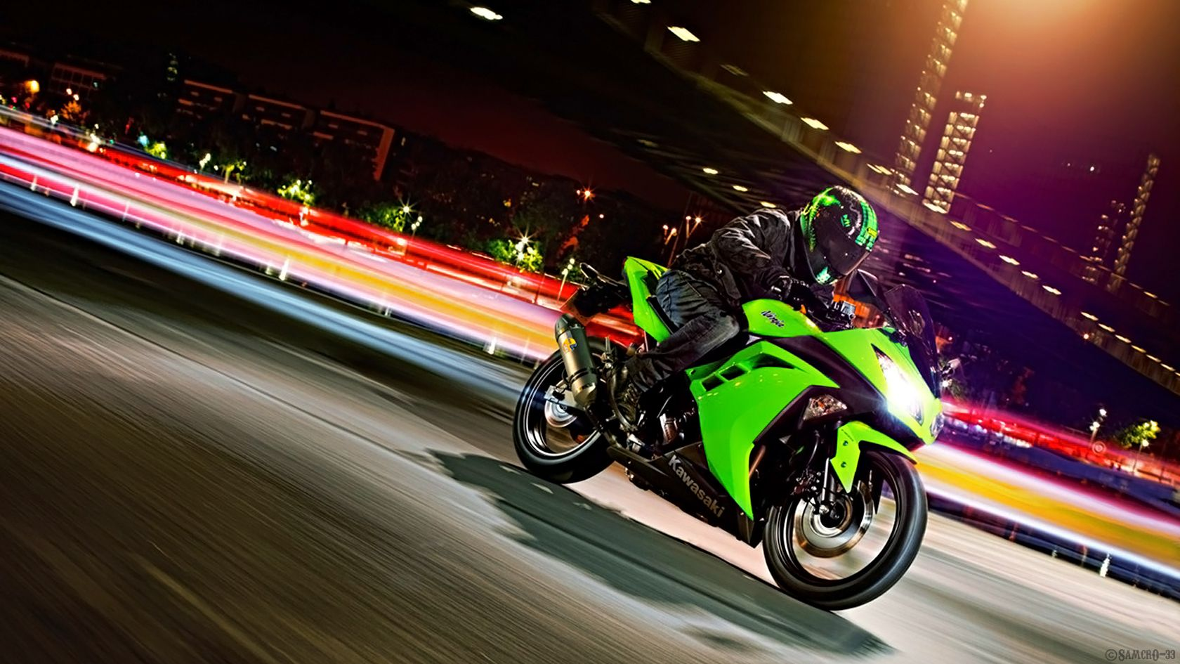 Kawasaki Ninja 300 Wallpaper HD