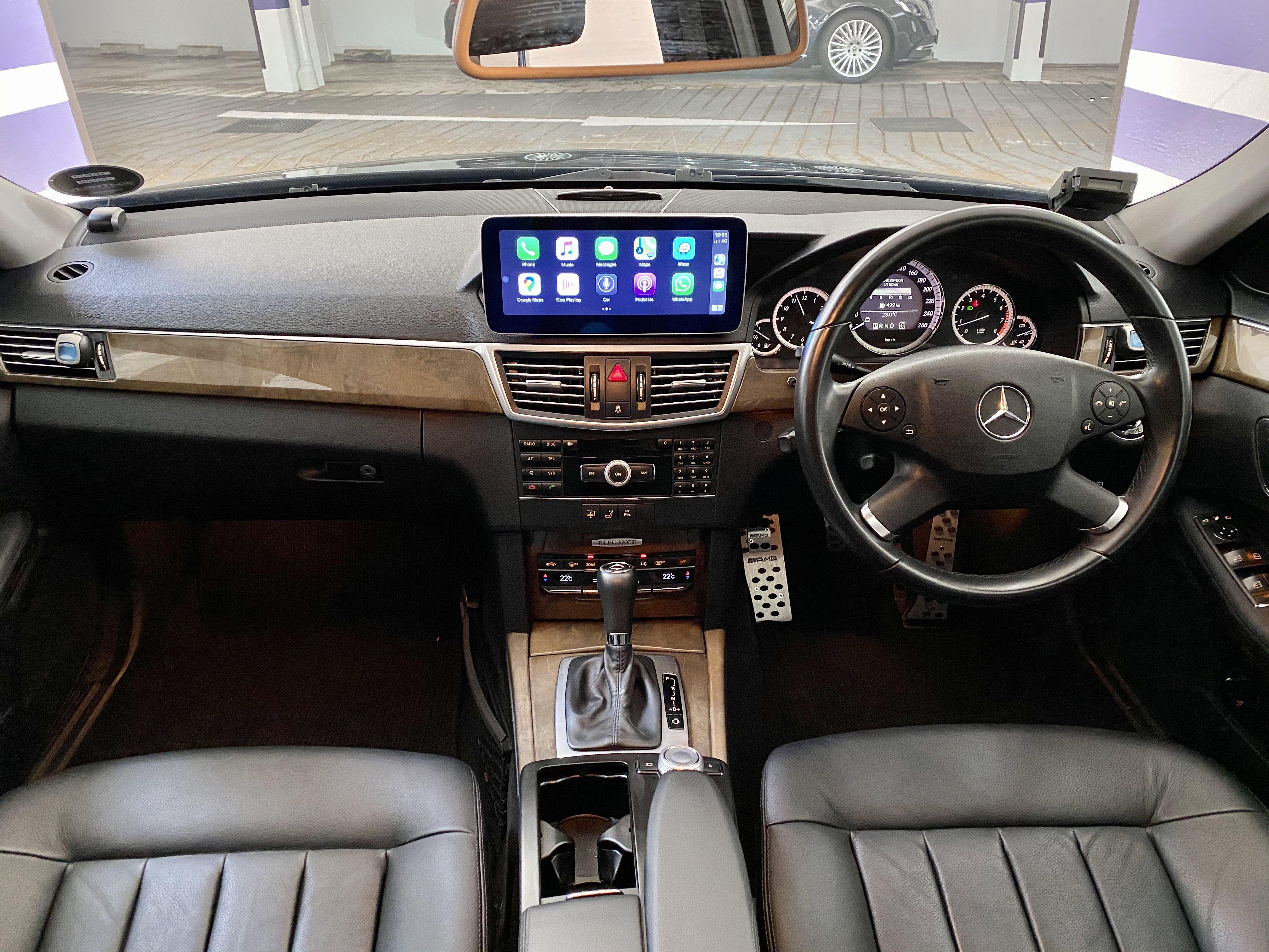 Apple Carplay In Mercedes Benz W212 E Class