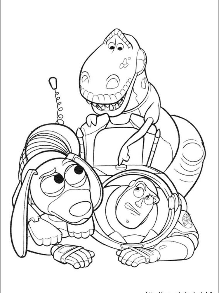 17+ Printable toy story christmas coloring pages info