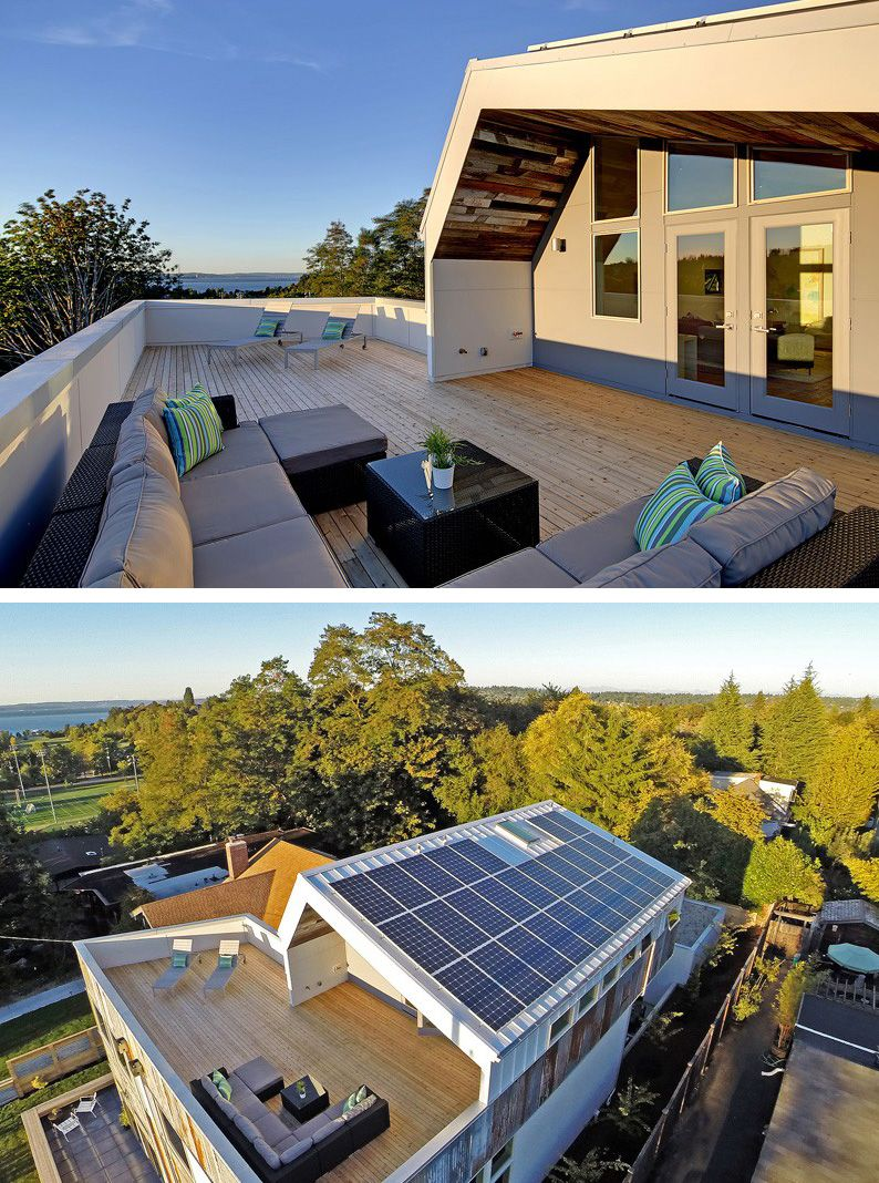 Design/build Firm Dwell Development Have Recently Completed Their Net Zero  U0027Reclaimed Modern