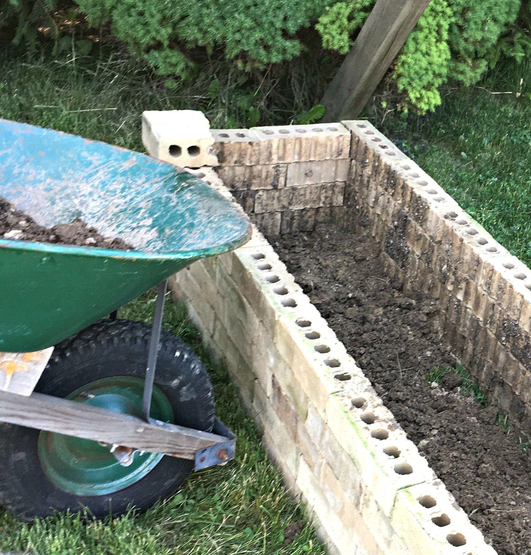 Diy Upcycled Brick Planter Box Brick Planter Planter 400 x 300