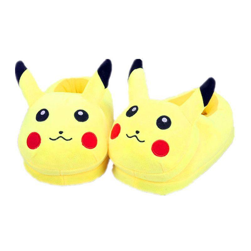 Pokemon Slippers Elf Ball Pikachu Eevee