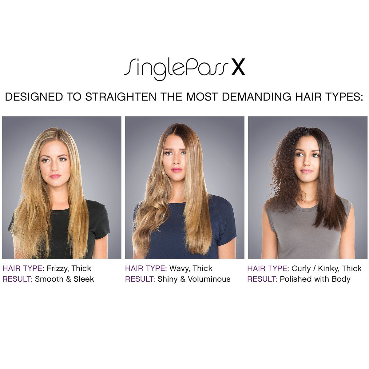 """T3 SinglePass X 1.5"""" Wide Professional Styling Iron. It gets the job done!"""
