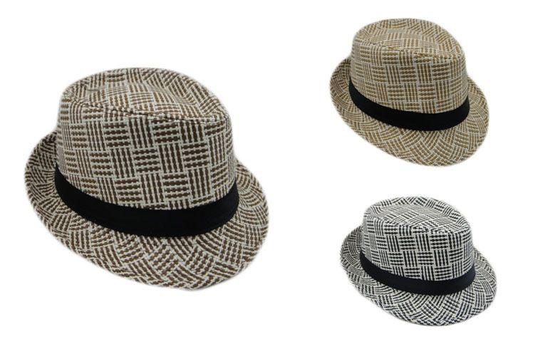 c87a623381622 New Korea Style Children Kids Boys Girls Tops Fedora Trilby Hat Jazz Dance  Cap