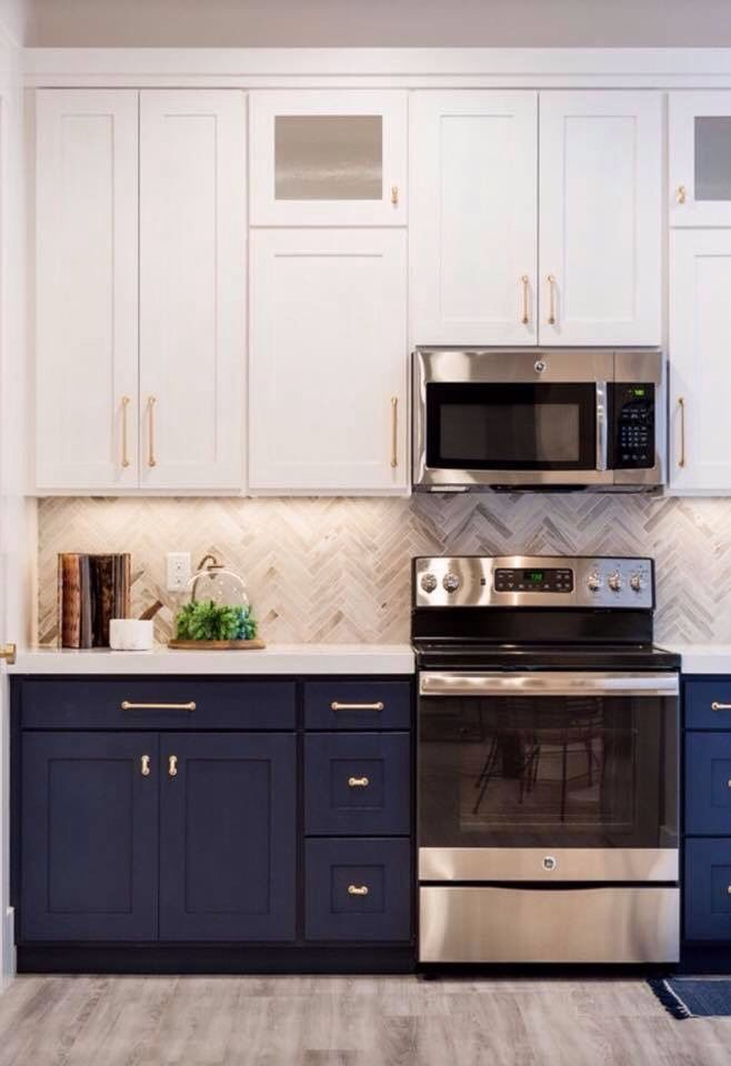 who says that your upper and lower cabinets always have to match don t be afraid to kitchen on kitchen cabinets upper id=29533