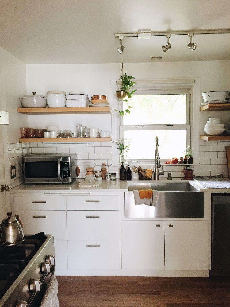 HOME TOUR BEV WEIDNER Home Pinterest Minimalist And Apartments Simple Kitchen Design School Minimalist