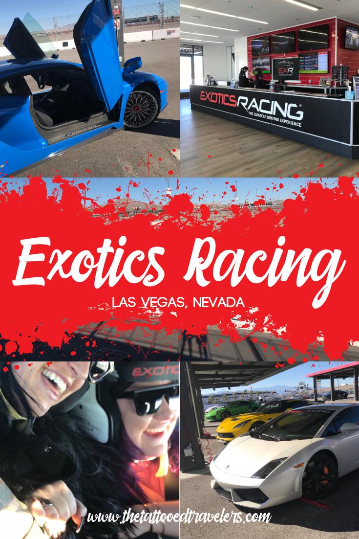 A Supercar Driving Experience At Exotics Racing In Las Vegas Visit Las Vegas Nevada Travel Las Vegas