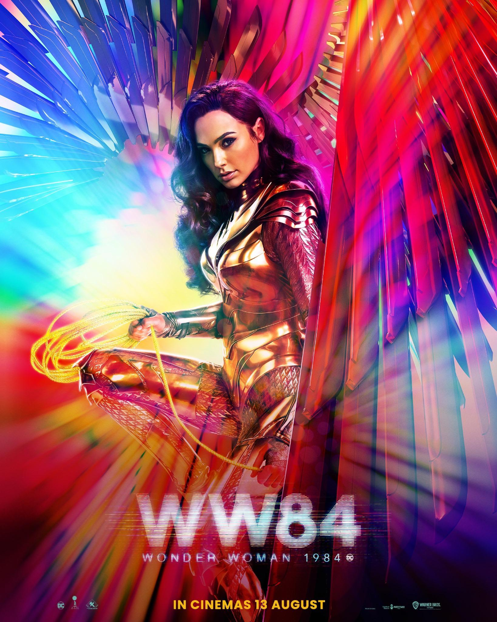 New Poster For Wonder Woman 1984 Movies Dceu In 2020 Wonder Woman New Poster 1984 Movie