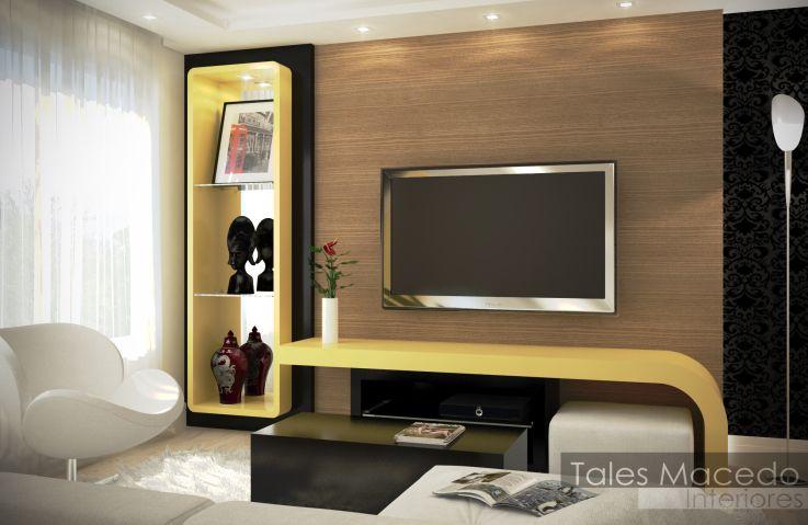 paineltvaceso225366jpg (900×675)  Sala Estar  Pinterest ~ Sala De Tv Com Home