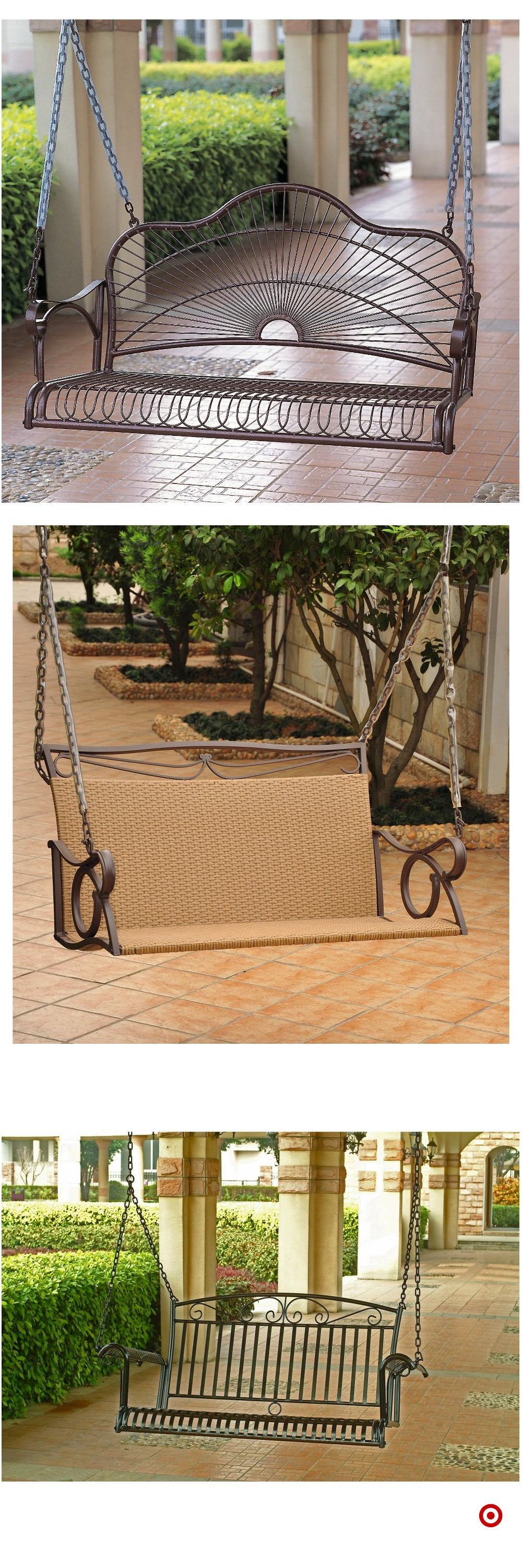 Shop Target for porch swing you will love at great low ... on Target Outdoor Living id=40196