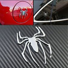 SUV Metal Car Spider MAN Emblem LOGO Rear Badge sticker For VW  Decal Silver new