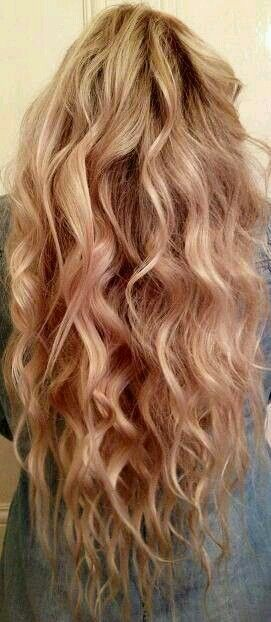 As I Go Through All These Body Wave Perms See Pictures Like This One Soft Big Relaxes Curls That Have Volume Wondering What Styling If Any At