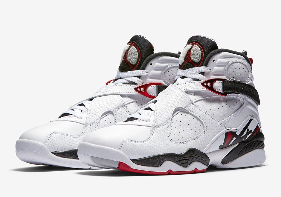 size 40 f1535 08688 ... authentic nike air jordan 8 retro alternate size 6 17 white gym red  wolf grey 305381