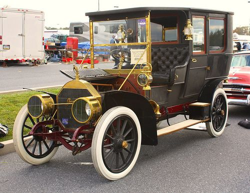 1908 Locomobile Model 40 Limousine With Over 940 Different Classic