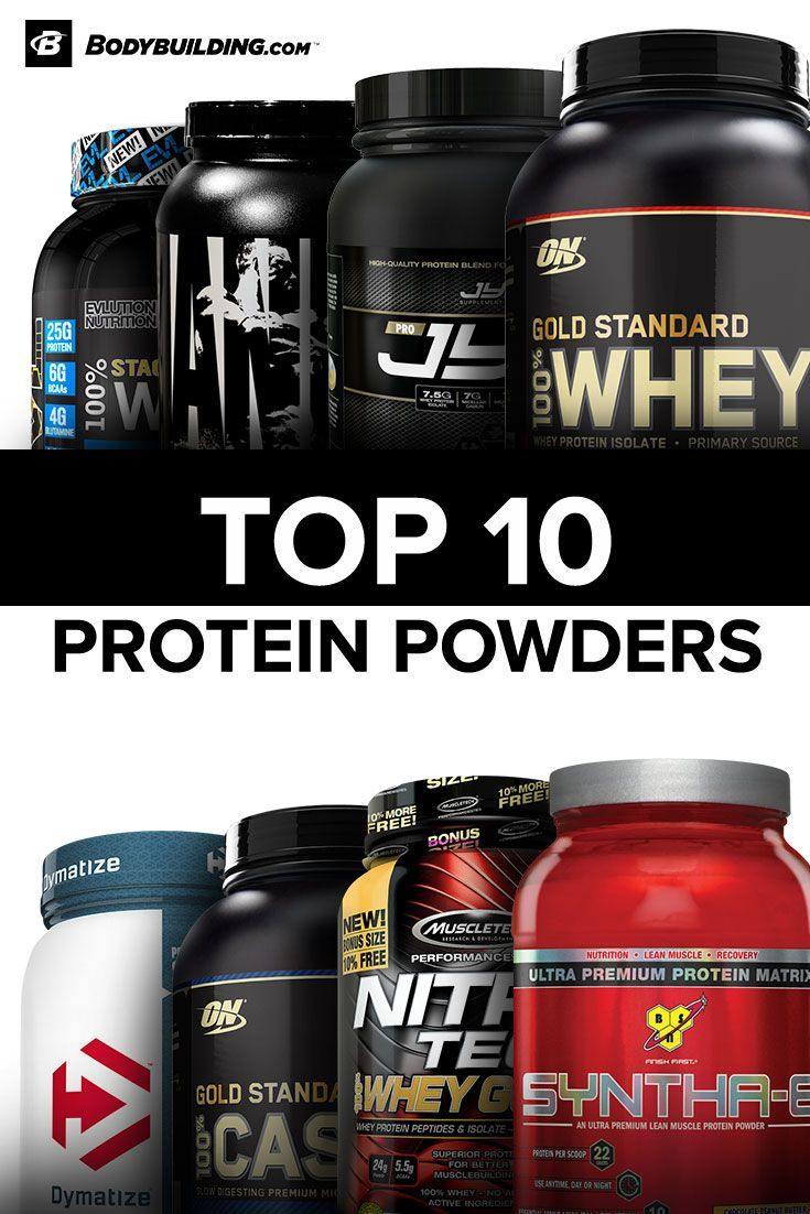Discover The Bodybuilding Com Top 10 Rated Proteins Today Free Shipping On All Orders Over 49 Best Protein Powder Best Protein Fitness Nutrition