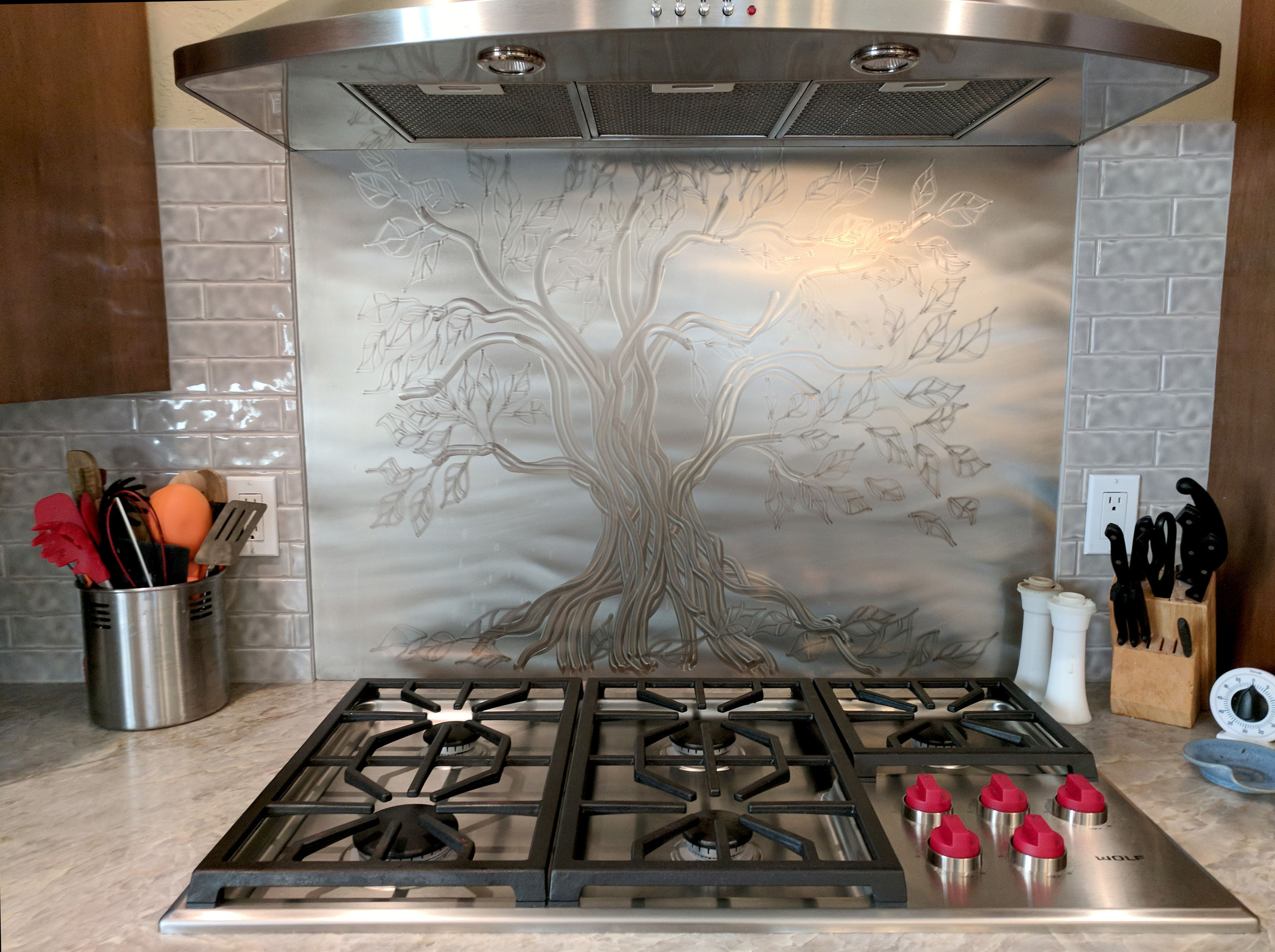 14+ Decorative stainless steel backsplash sheet inspirations