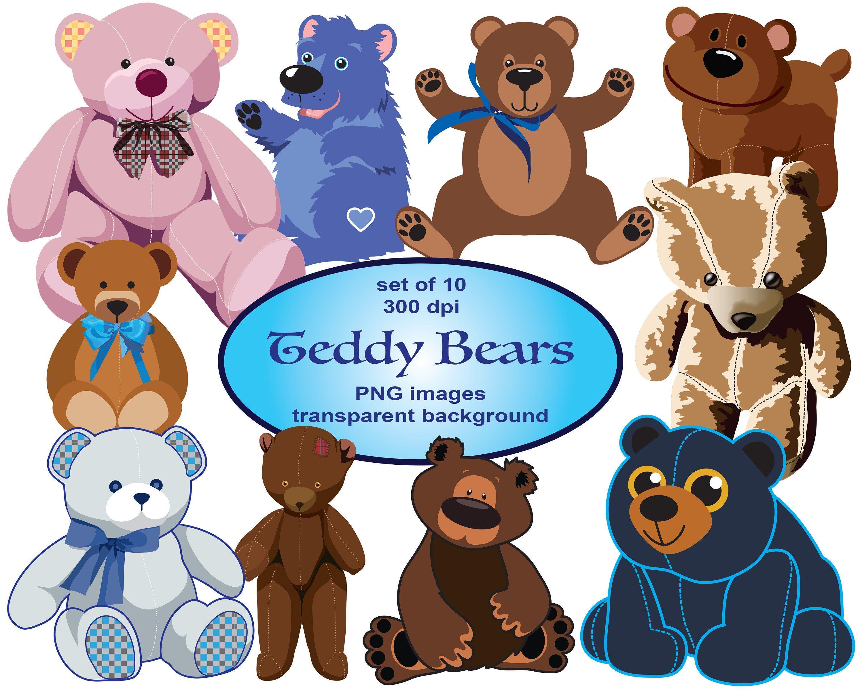 Teddy Bear Clipart Svg Clipart Bear Clip Art Png Animals Etsy Teddy Bear Clipart Bear Clipart Animal Clipart