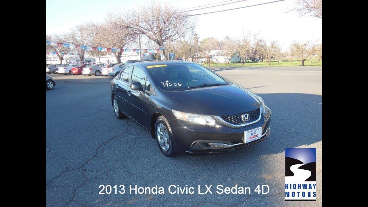 2013 Honda Civic Lx Sedan 4d In 2020