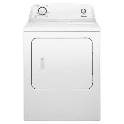 Amana 6 5 Cu Ft 120 Volt White Gas Vented Dryer Ngd4655ew Electric Dryers Amana Dryer Gas Dryer