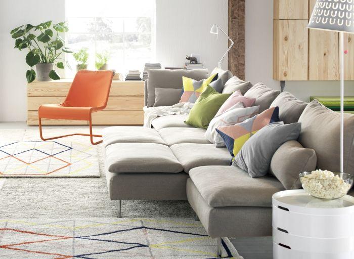 Ikea Soderhamn Bank : SÖderhamn modulaire zitbank ikea bank flexibel woonkamer