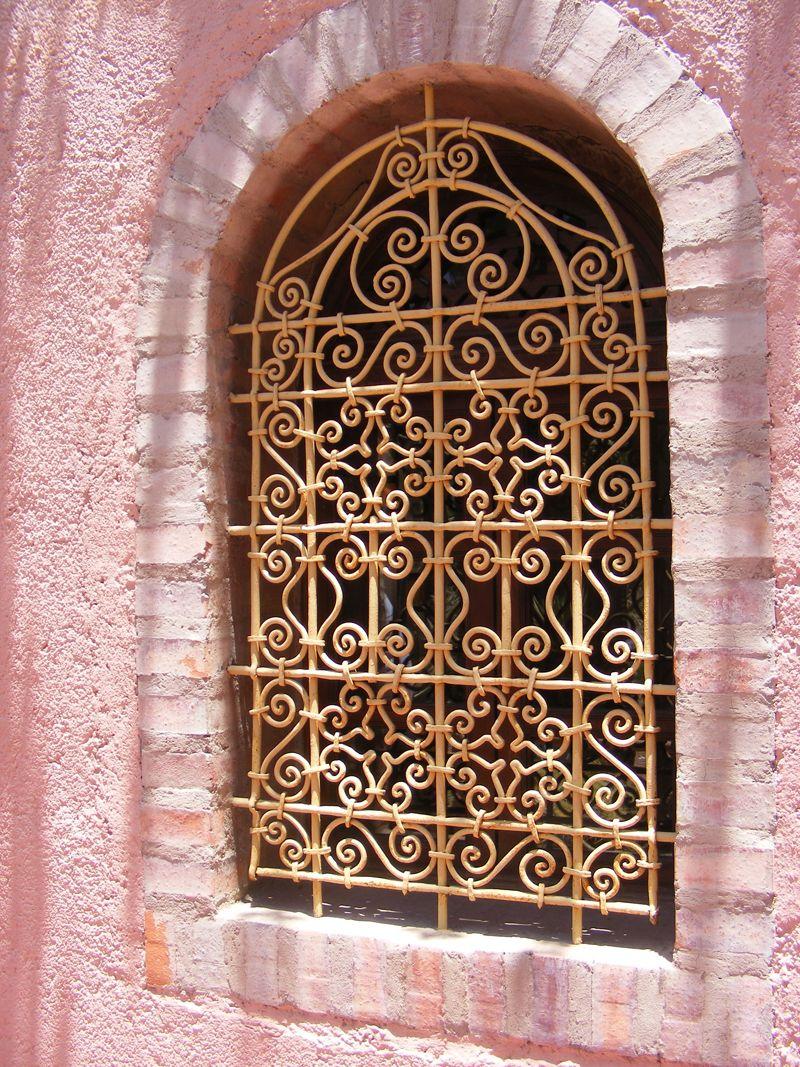 Moroccan window Marrakech. Photo by Melanie el Haddad