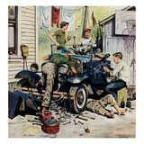 """""""Working on the Jalopy"""", May 20, 1950"""