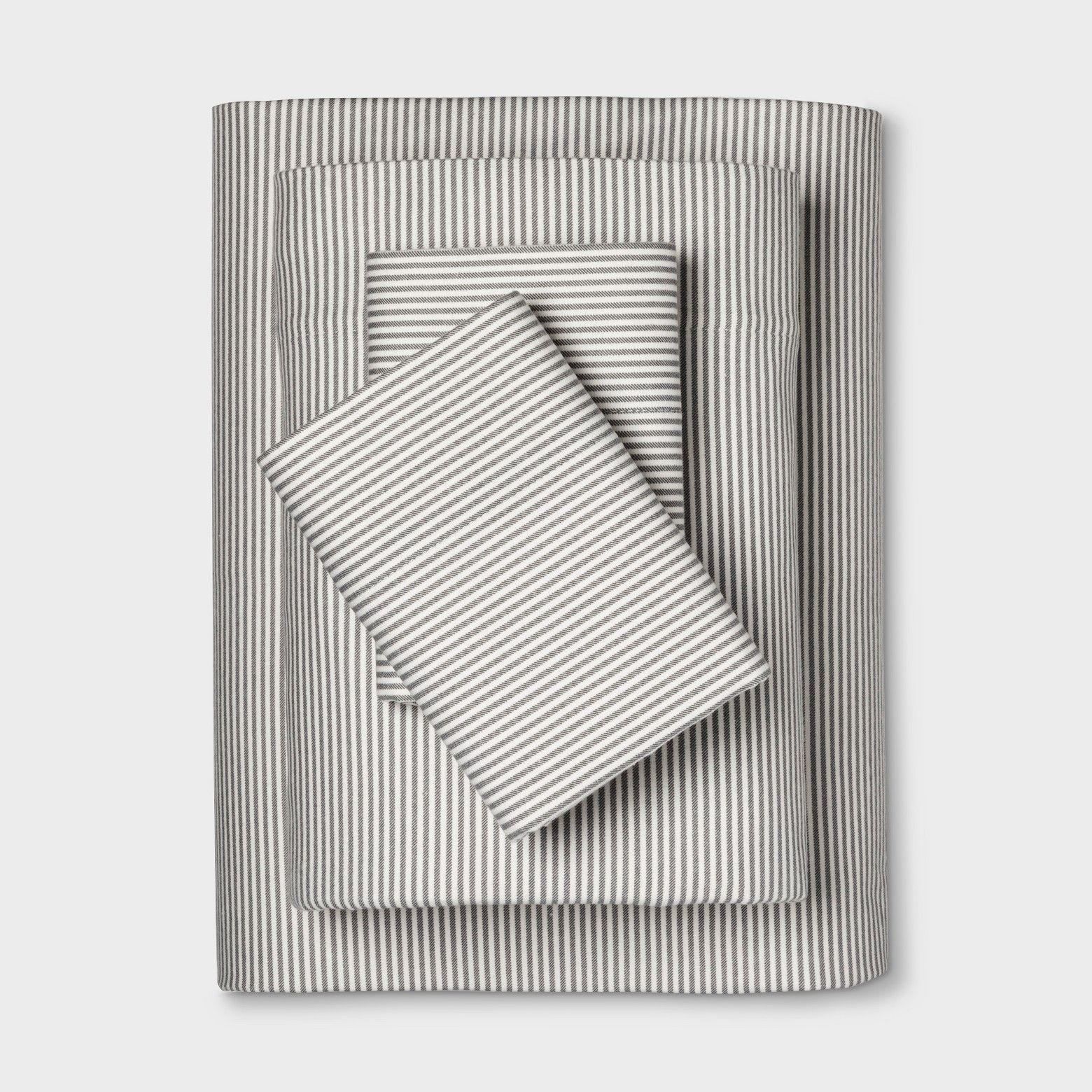 Perfect for cool weather, Threshold's Flannel Sheets bring