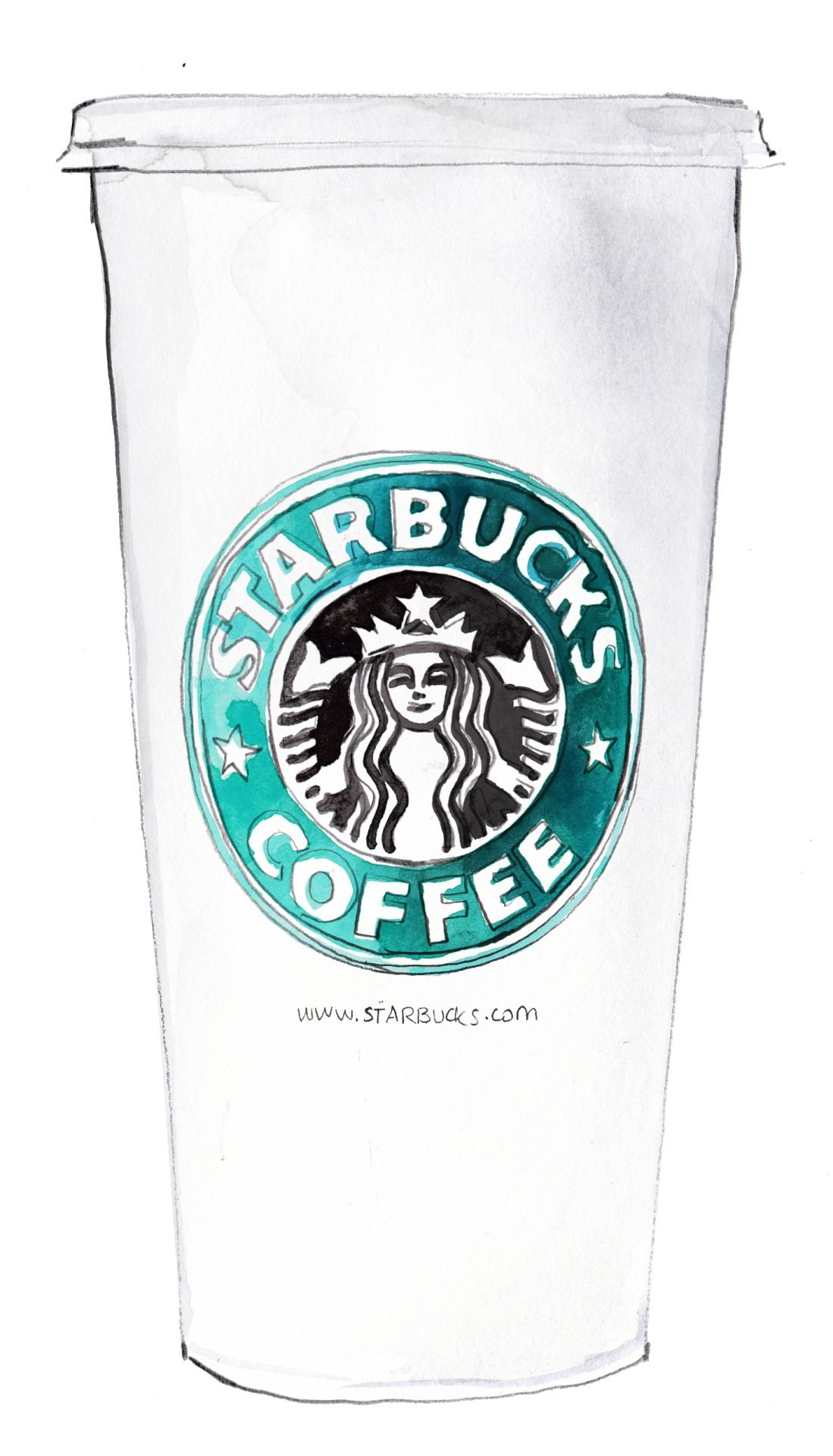 Class On The Cape Starbucks Drawing Starbucks Cup Drawing